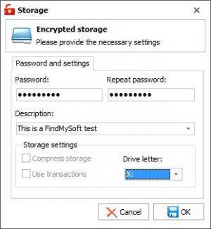 Enlarge BeSafe Secure Drive Screenshot