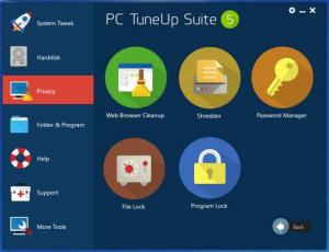 Enlarge PC TuneUp Suite Screenshot