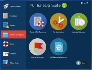 Enlarge PC TuneUp Suite Screenshot