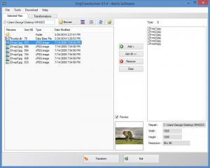 Enlarge ImgTransformer Screenshot