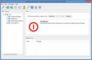 Enlarge Remote Shutdown Screenshot