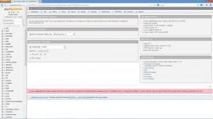 Enlarge phpMyAdmin Screenshot
