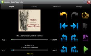 Enlarge Ambling BookPlayer Screenshot
