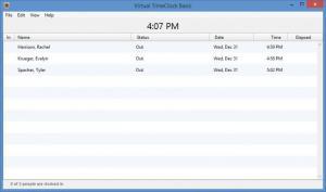 Enlarge Virtual TimeClock Basic Screenshot