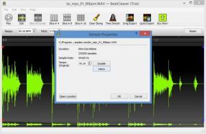 Enlarge BeatCleaver Screenshot