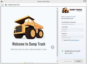 Enlarge Dump Truck Screenshot