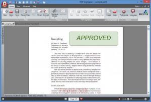 Enlarge PDF Sign&Seal Screenshot