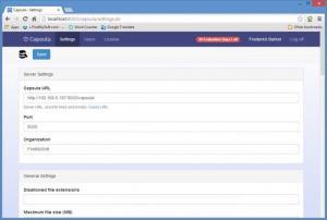 Enlarge Capsula Screenshot
