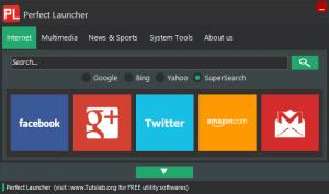 Enlarge Perfect Launcher Screenshot