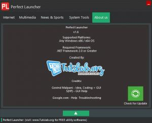 Enlarge Perfect Launcher Screenshot