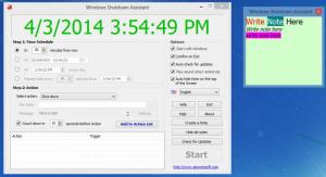 Enlarge Windows Shutdown Assistant Screenshot