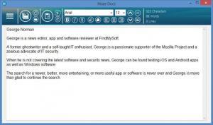 Enlarge Muze Docs Screenshot