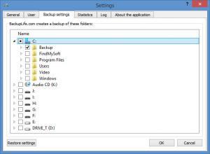 Enlarge BackupLife Screenshot