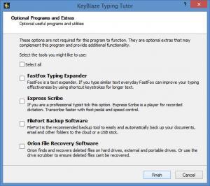 Enlarge KeyBlaze Typing Tutor Screenshot