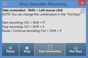 Enlarge Docu Generator Screenshot