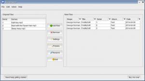 Enlarge Mp3-Renamer Screenshot