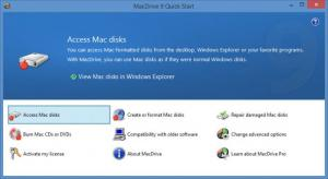 Enlarge MacDrive Screenshot