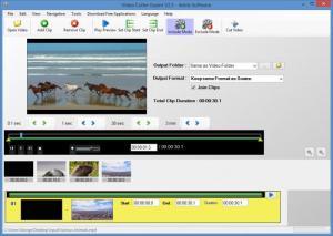 Enlarge Free Video Cutter Expert Screenshot