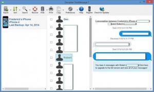 Enlarge Decipher TextMessage Screenshot