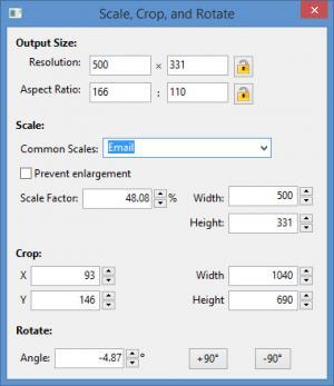 Enlarge SCRAP Photo Editor Screenshot