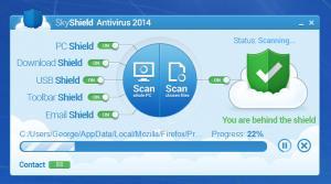 Enlarge SkyShield Antivirus Screenshot