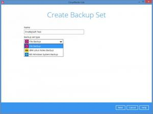 Enlarge CloudBacko Screenshot