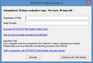 Enlarge WYSIWYG Web Builder Screenshot