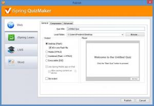 Enlarge iSpring QuizMaker Screenshot