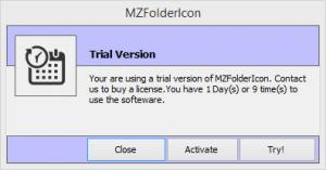 Enlarge MZ FolderIcon Screenshot