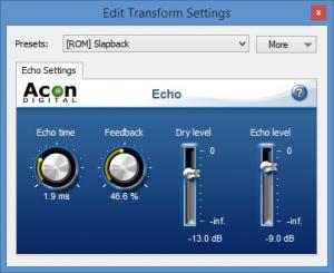 Enlarge Acoustica Basic Edition Screenshot