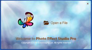 Enlarge Photo Effect Studio Screenshot