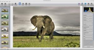 Enlarge Photo Effect Studio Screenshot