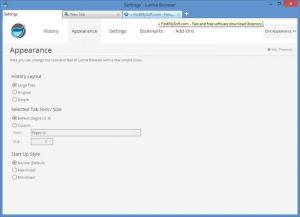 Enlarge Lumia Browser Screenshot