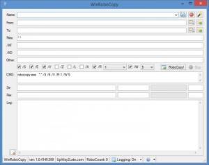 Enlarge WinRoboCopy Screenshot