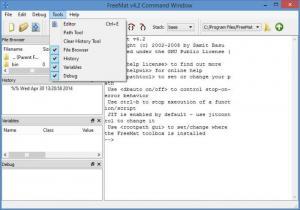 Enlarge FreeMat Screenshot