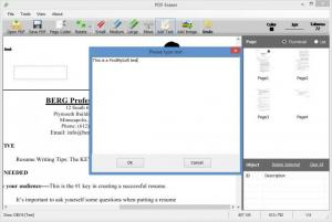 Enlarge PDF Eraser Screenshot