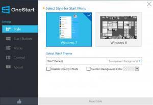 Enlarge Anvi OneStart Screenshot