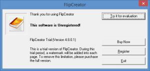 Enlarge FlipCreator Screenshot