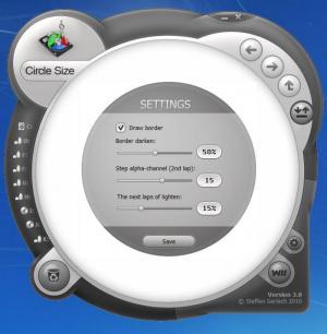 Enlarge Circle Size Screenshot