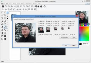 Enlarge SoftOrbits Icon Maker Screenshot