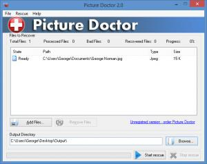 Enlarge Picture Doctor Screenshot