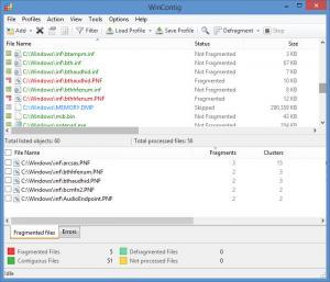 Enlarge WinContig Screenshot