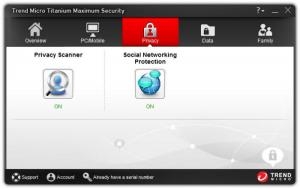 Enlarge Trend Micro Titanium Maximum Security Screenshot