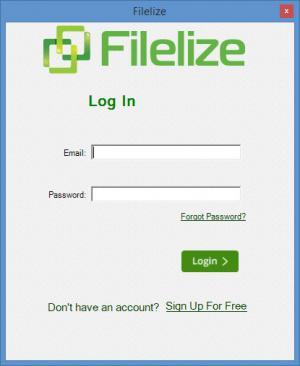 Enlarge Filelize Screenshot