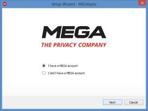 Enlarge MEGAsync Screenshot