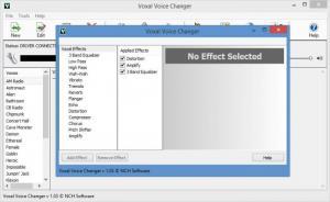 Enlarge Voxal Voice Changer Screenshot