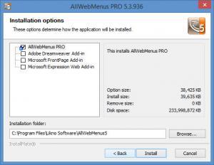 Enlarge AllWebMenus Screenshot