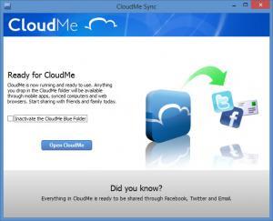 Enlarge CloudMe Screenshot