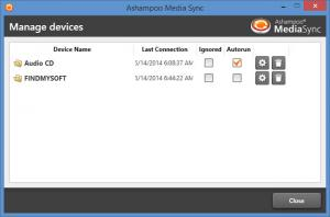 Enlarge Ashampoo Media Sync Screenshot