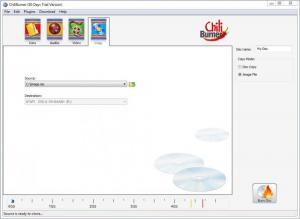 Enlarge Movavi ChiliBurner Screenshot